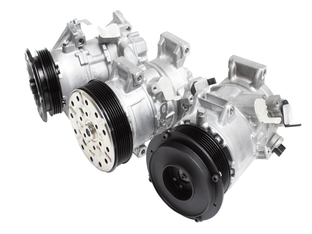 automotive-air-conditioning-compressor-on-a-white-background-car-parts
